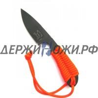 Нож Backpacker Black ionbond Blade Orange Paracord WR/BP-OR-CBI
