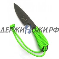 Нож Backpacker Black ionbond Blade Green Paracord White River WR/BP-GR-CBI