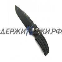 Нож EX-01 Auto Black Blade Black Handle Hogue-Elishewitz HG/34130BK