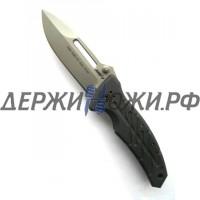 Нож XM-1 Black Plain Edge Ontario складной ONT/8750