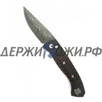 Нож Brend Auto #3 Damascus Steel Pro-Tech складной автоматический PR/BRENDAUTO#3DAM
