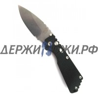 Нож Strider SnG Auto Black Aluminum Handle Stonewashed Blade Pro-Tech складной автоматический PR/2405
