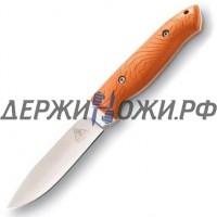Нож с фиксированным клинком Lone Wolf Hunter Orange