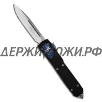 Нож Ultratech S/E Sttandart Drop Point Stonewash Elmax Blade Microtech складной автоматический MT_121-10