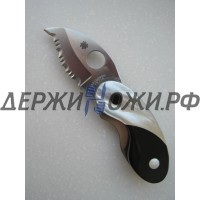 Нож Santa Fe Spyderco Cricket (перламутр,чёрная яшма) складной SF/SPYJ29PJ