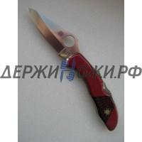 Нож Santa Fe Spyderco Delica (коралл) складной SF/SPYJ11R