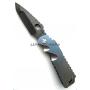 Нож Arktika Black D2 Blade Blue Muted Fade Titanium Medford складной MF/Arktika PVD-FL/BL