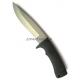 Нож  Black Kat 302 Bead Blasted Kraton Katz KZ/BK-302BB