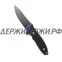 Нож HB Fixed Black Blade Black Leather Fantoni FAN/HBFxBkBkLBk