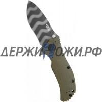 Нож 0301 Strider Onion Tiger Stripe Folder Zero Tolerance складной K0301