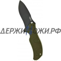Нож 0350GRN SpeedSafe Green Aluminum Handle Zero Tolerance складной K0350GRN