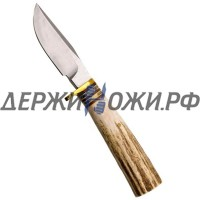 Нож Clip Point Hunter Antler Handle White River WR/CP-ANT