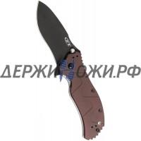 Нож 0350BRN Brown Handle SpeedSafe Zero Tolerance складной K0350BRN