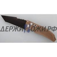 "Нож Hogue-Elishewitz ""EX-03 Auto Tanto Black/Brown ""EL/34323B"