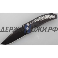 Нож Hogue-Elishewitz EX-03 Drop Point Custom Skulls & BonesEL/34330BS
